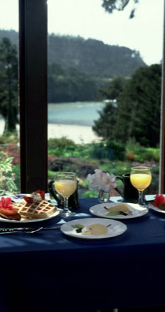 breakfast by window